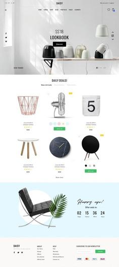 DAISY – Elegant eCommerce SKETCH
