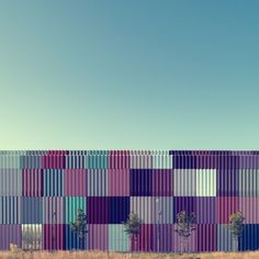 Nick Frank // Mira #fields #color #architecture #facades