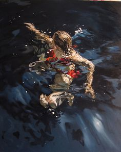 http://farm6.static.flickr.com/5084/5280592779_bbf07fbfde_b.jpg #paint #water #girl