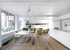 Bermondsey Warehouse Loft is a minimalist house located in London, England, designed by FORM design architecture