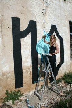 ♥ WALLS ♥ #eme #streetart #emedemati #illustration #art #street #typography