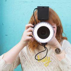 Flashmate Ring Camera Light by GiSTEQ