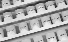 Catalina Fernxc3xa1ndez #packaging #white #anagrama #container