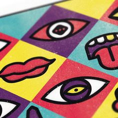 Yorokobu Mag Illustrations II on the Behance Network #colourful #illustration