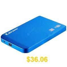 Caraele #H #- #6 #USB3.0 #External #Mechanical #Mobile #Hard #Drive #- #DODGER #BLUE
