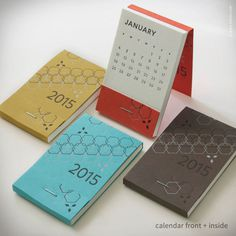 25 Modern Calendars for 2015 in style fashion main art Category #calendar