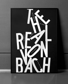 Bunch #white #black #poster #and #type