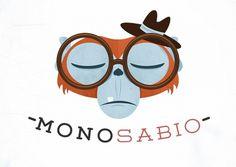tumblr_lt894s5yWU1qdup32o1_1280.jpg (JPEG Imagen, 864x614 píxeles) #logo #monosabio #monkey