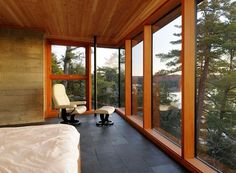 Onestep Creative - The Blog of Josh McDonald » Cliff House #woodgrain #architecture #house #modern
