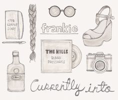 currently into... | Flickr: Intercambio de fotos #typograhpy #shoes #melissa #the #illustration #kills #magazine #chaib