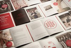 F. Ménard designed by lg2 boutique #brochure #books #branding