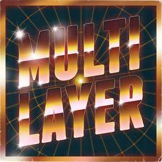 Scutheotaku / Multilayer | PICDIT #album #design #graphic #art #type
