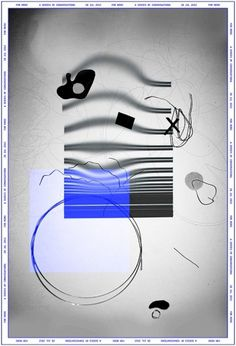 For Miro on the Behance Network #lines #rgb #event #black #cardoso #poster #art #warp #blue #tuscani #collage #miro #fine