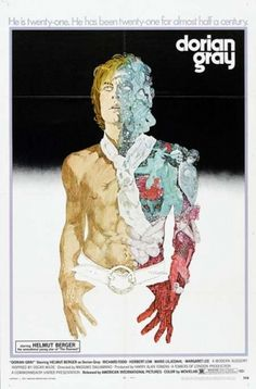 The One-Sheet Repository - Dorian Gray (1970) #illustration #typography #poster #film #one sheet #dorian gray