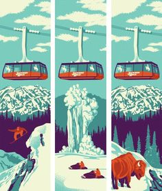 Winter Wyoming « The Tenfold Collective Blog #print #poster