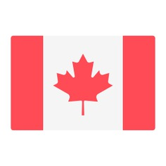 See more icon inspiration related to canada, flag, nation, world, country and flags on Flaticon.