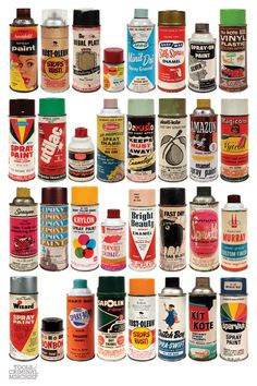 Delicious Industries #packaging #paint #retro #pray