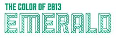 A SWEET SPIRIT #year #of #color #typography #the #emerald #green
