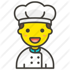 See more icon inspiration related to food and restaurant, professions and jobs, smileys, user, chef, avatar, profile, man and social on Flaticon.