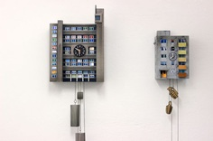 Contemporary Takes on Cuckoo Clocks by Guido Zimmerman Resemble Brutalist Block Buildings