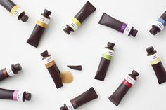 chocolate paint06_ayao_yamazaki #chocolate #paint #tubes #sweets