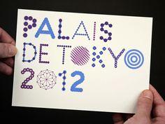 """Palais de Tokyo / Carte de vÅ""""ux #helmo"""