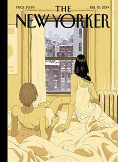 New Yorker cover by Tomer Hunaka. Illustration, New york