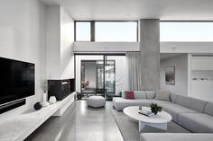 living room, Tom Robertson Architects