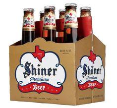 Shiner Premium Beer #packaging
