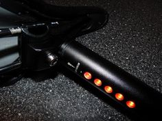 Lightskin Bicycle Seatpost LED Tail Light #gadget #light #led #bicycle
