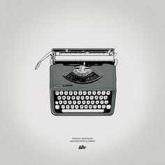 Silence Television - Blog #typewriter
