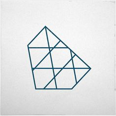 #267 Iceberg – A new minimal geometric composition each day