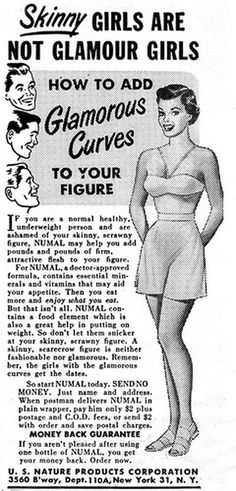 All sizes | 1951--skinny-girls | Flickr - Photo Sharing! #design #graphic #vintage
