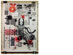 dada100 tokyo #dada #poster #collage
