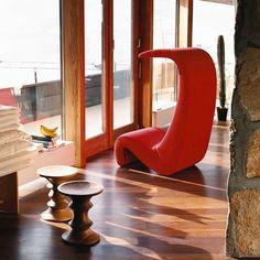 Amoebe Highback Chair by Verner Panton