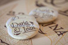 Daria & Ivan Wedding identity and invitations