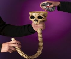 Skeleton Beverage Funnel #walloween #drink #funny #home