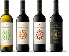 Vins de Mesies #geometry #packaging #design #graphic #wine #label #barcelona