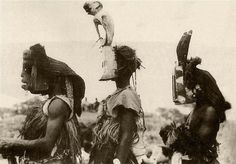 Michel Leiris, dogon masks 1934 #culture #photography #people