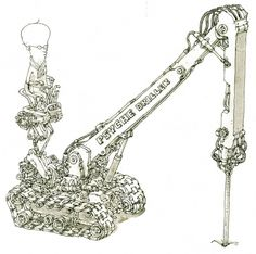 Moleskine Sketches by Mattias Adolfsson | Best Bookmarks #moleskine #driller #sketch