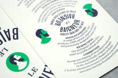 Müesli: Le Baigneur Identity #design #graphic #identity