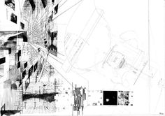 The Continuous Monument II PLAN AND EXPLODED PERSPECTIVE #architecture