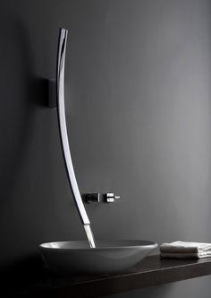 Luna faucet #design #bathroom
