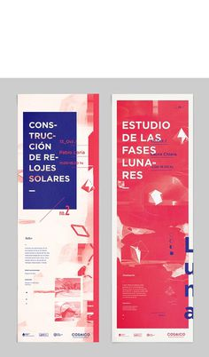 Cxc3xb3smico_ on Behance #red #print #poster #type #blue