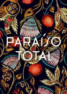 Paraíso Total #paradise #lettering #mixedmedia