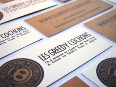 Les Greedy Cochons #branding #design #graphic #pig #identity #logo