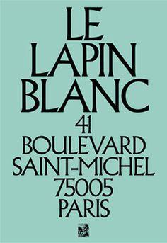Côme de Bouchony #paris #bouchony #come #de #typography