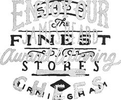 Inspiring Hand Drawn Typography Pieces by Zachary Smith