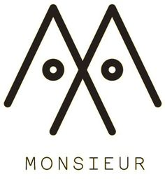 Monsieur. Bespoke digital marketing in Melbourne, Australia. #logo