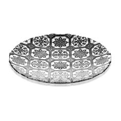 Bowl Safi Glass Grey Silver 40cm